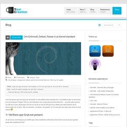 YourCreation » Ovh & Kimsufi, Debian, Passer à un Kernel standard