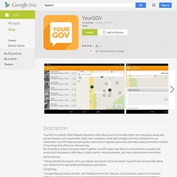 YourGOV - Aplicativos no Android Market