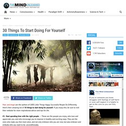 30 things to start doing for yourself pdf