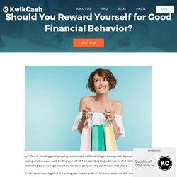 Should You Reward Yourself for Good Financial Behavior?