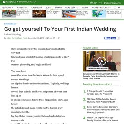 Go get yourself To Your First Indian Wedding - Long Beach, NY Patch
