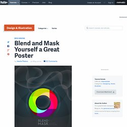 Blend and Mask Yourself a Great Poster