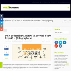 Do It Yourself (D.I.Y) How to Become a SEO Expert? - {Infographics} -Dubai Monsters