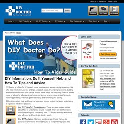DIY | Home Improvement Advice | DIY Help, Tips, Information & Ad