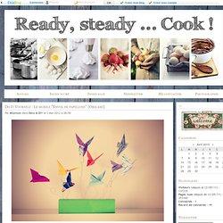 "Do It Yourself : Le mobile ""Envol de papillons"" {Origami} - Ready, steady... Cook !"