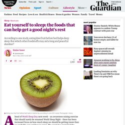 Eat yourself to sleep: the foods that can help get a good night's rest