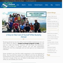 Student Exchange Program in India