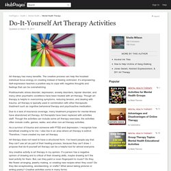 Do-It-Yourself Art Therapy Activities