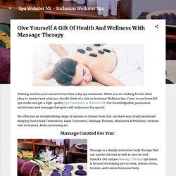 Massage Webster NY