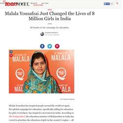 Malala Yousafzai Campaign for Education - The Malala Fund