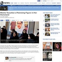 Nobel Winner Malala Yousafzai a Polarizing Figure in Pakistan