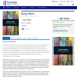 Body Work: Youth, Gender and Health (Hardback)
