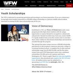 Youth Scholarships - VFW