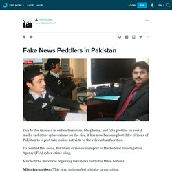 Fake News Peddlers in Pakistan: youthofpak — LiveJournal