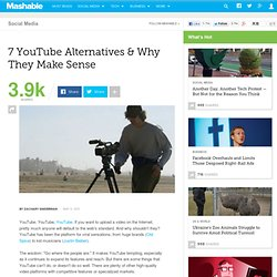 7 YouTube Alternatives & Why They Make Sense