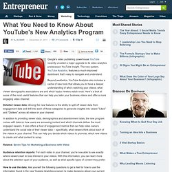 What You Need to Know About YouTube's New Analytics Program | Blog | Daily Dose
