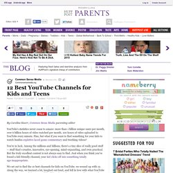 12 Best YouTube Channels for Kids and Teens