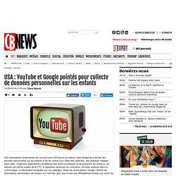 USA : YouTube et Google pointés pour collecte de données personnelles sur les enfants