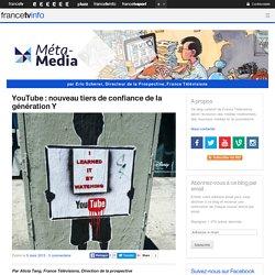 YouTube : nouveau tiers de confiance de la génération Y