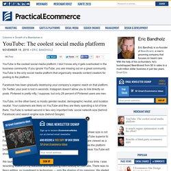 YouTube: The coolest social media platform