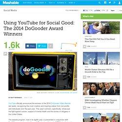Using YouTube for Social Good: The 2014 DoGooder Award Winners