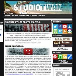 Youtube et les droits d'auteur - StudioTwan