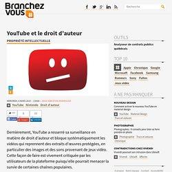 YouTube et le droit d'auteur