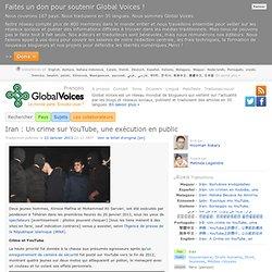 Iran: un crime sur YouTube, une exécution en public