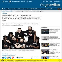 YouTube stars the Sidemen are frontrunners in race for Christmas books No 1