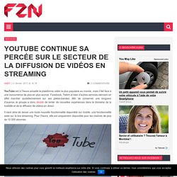 YouTube lance mobile live streaming et Super Chat