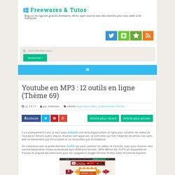 12 outils en ligne (Thème 69) ~ Freewares & Tutos