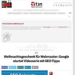 SEO-Hilfe auf Youtube: Google startet neue Videoserie