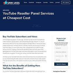Buy YouTube Subscribers and Views the Right Way - smmlikes.in