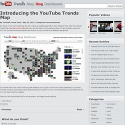 Introducing the YouTube Trends Map
