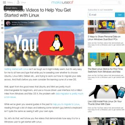 5 YouTube Videos to Help You Get Started with Linux