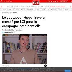 Le youtubeur Hugo Travers recruté par LCI pour la campagne présidentielle