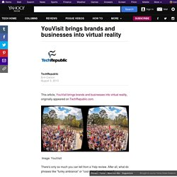 YouVisit brings brands and businesses into virtual reality