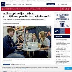 Aallon opiskelijat hakivat yrittäjäkumppaneita tositarkoituksella - Kasvuyritykset