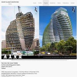 TAO ZHU YIN YUAN TOWER proj Vincent Callebaut