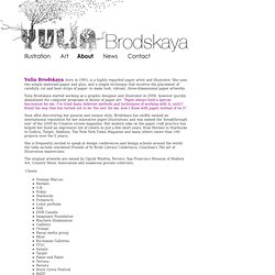 Yulia Brodskaya : About me