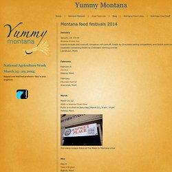 Yummy Montana - Montana food festivals 2011