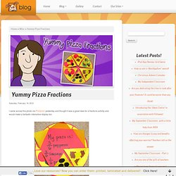 Yummy Pizza Fractions
