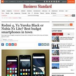 Redmi 4, Yu Yureka Black or Nubia N1 Lite? Best budget smartphones in town