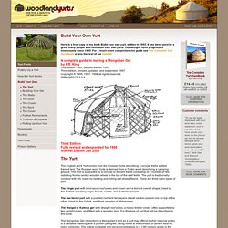 Yurt Buildng - StumbleUpon