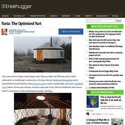 Yurta: The Optimized Yurt