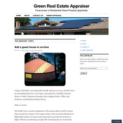 Green Real Estate Appraiser