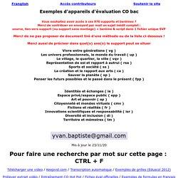 Yvan BAPTISTE - www.franglish.fr