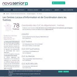CLIC Yvelines : Liste des guichets et coordonnées