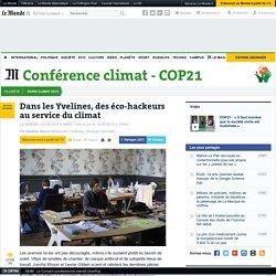 Des éco-hackeurs au service du climat