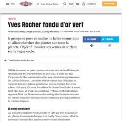 Yves Rocher fondu d'or vert